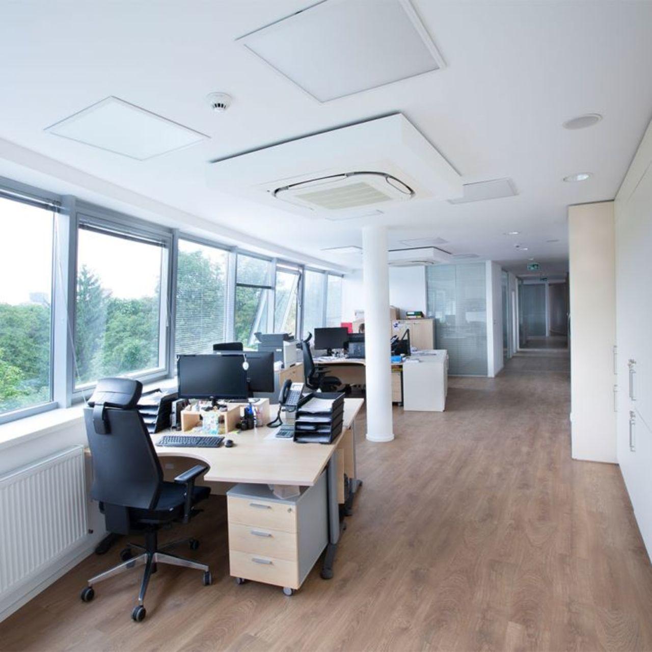 Trendy Office vinyl floor Dubai design 2021