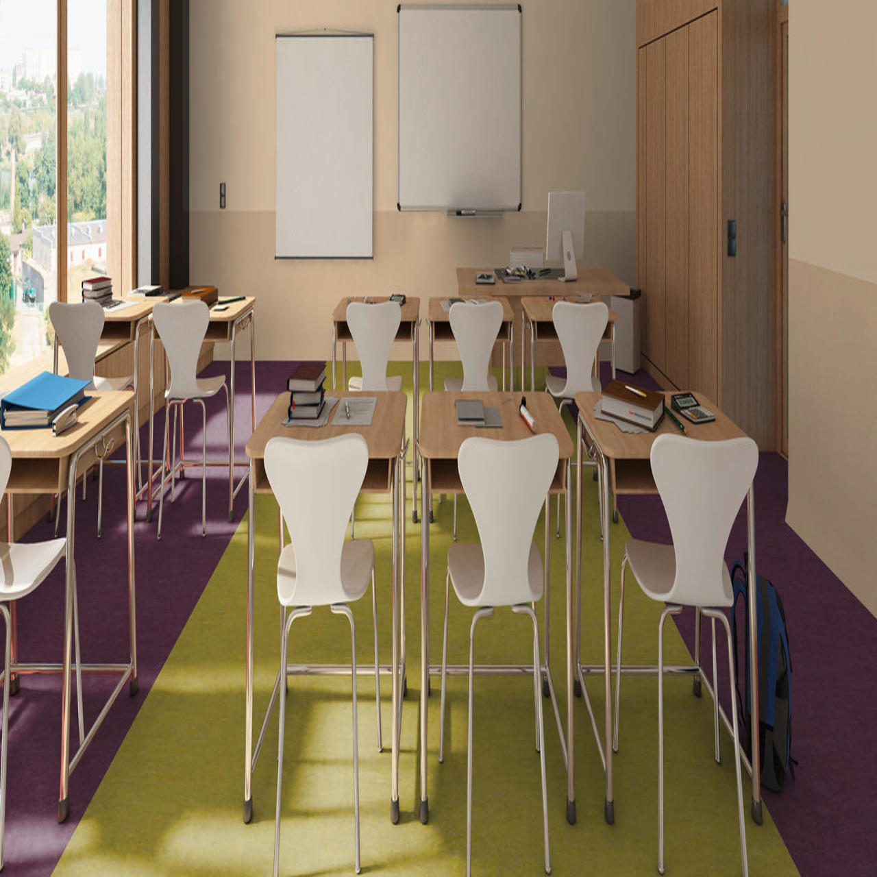 School And Nurseries Flooring In Dubai