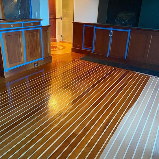 Trendy Floor Dubai designs of Wooden Flooring 2021